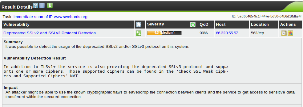 SSL protocols